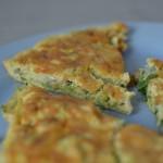 Bohnen-Rucola Omelett