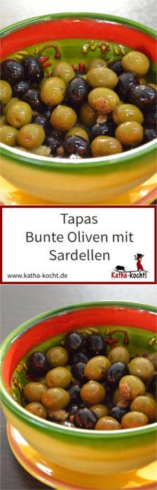 Pinterest - Tapas Oliven mit Sardellen