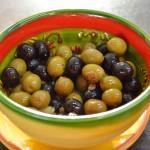 Tapas - Oliven mit Sardellen