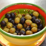 Tapas – Oliven mit Sardellen