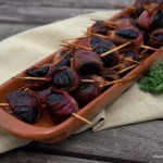 Tapas – Rote Bete im Speckband