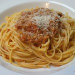 Spaghetti mit Thunfischsauce