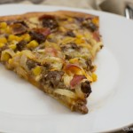 Dinkel BBQ Pizza