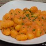 Gnocchi mit Paprikacréme