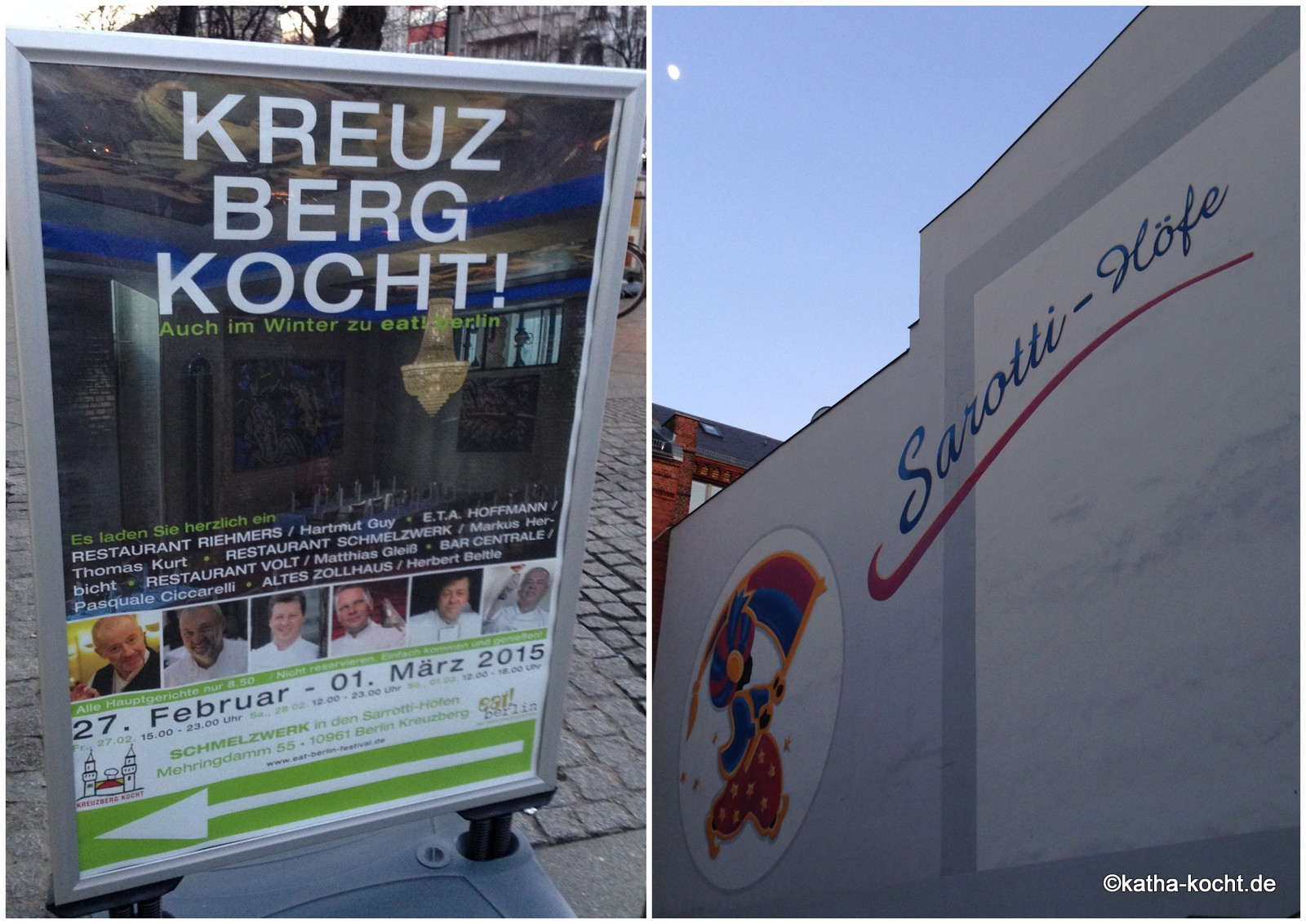 Kreuzberg kocht - im Schmelzwerk in den Sarott-Höfen