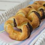 Schokoladen Croissant Kringel