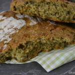 Dinkel-Fladen Brot mit Rucola