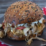 Pulled Calf Burger mit Kapern