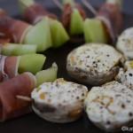 Tapas – gefüllte Champignons mit Mais