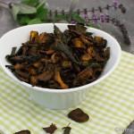 Karotten Chips aus dem Ofen