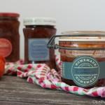 Tomaten Marmelade mit Zwetschgen