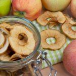 Apfelchips aus dem Backofen