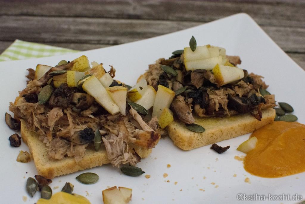 Pulled_Pork_Sandwich_Mit_Birne_und_Pilzen_ (3)