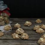 Weihnachtsbäckerei – Mandelmakronen