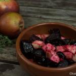 Tapas – Rote Bete mit Apfel