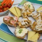 Ideen zum Abendbrot – Räucherfisch und Käseschnitten