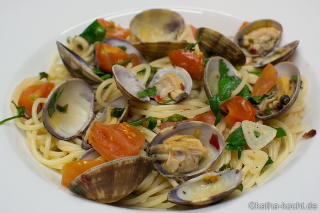 Spaghetti Vongole nach Jamie Oliver