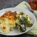 Gnocchi Auflauf mit Brokkoli und Tomate