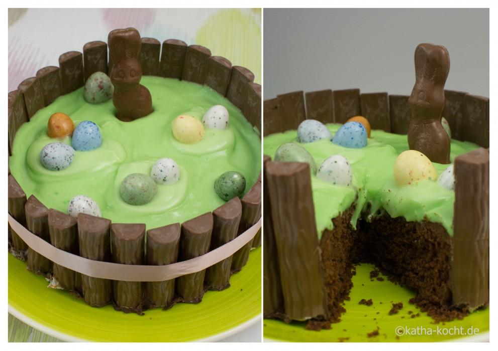Schokoladenkuchen_mit_Joghurette_zu_Ostern_2