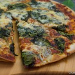Spinat Gorgonzola Pizza