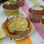 Zitrone Pistazien Muffins