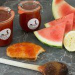 Sommerliche Melone-Limette Marmelade