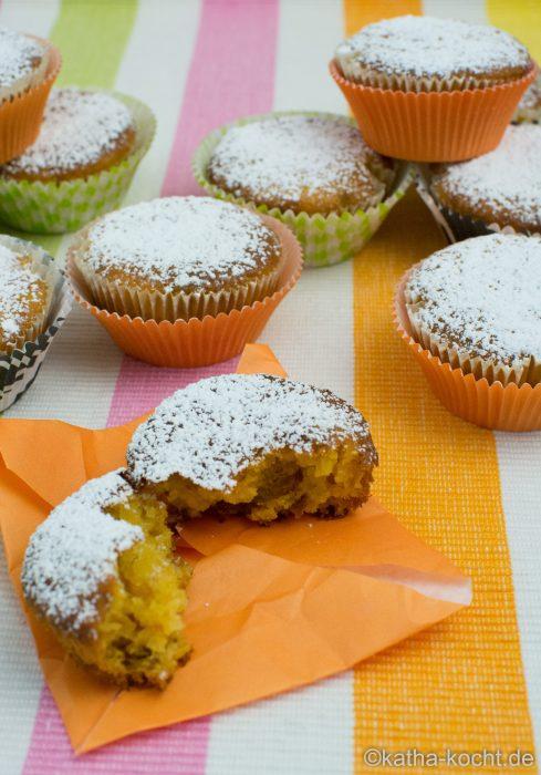 mango k rbis muffins auch als halloween variante katha kocht. Black Bedroom Furniture Sets. Home Design Ideas