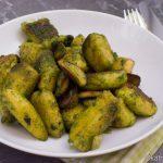 Gnocchi mit Kräuterseitlingen und Petersilienpesto