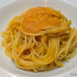 Spaghetti mit Kürbis-Gorgonzola Sauce