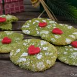 Weihnachtsgebäck – Grinch Cookies