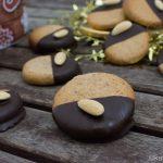 Weihnachtsgebäck – Mandel-Marzipan Plätzchen