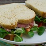 Sandwich mit italienischen Köstlichkeiten
