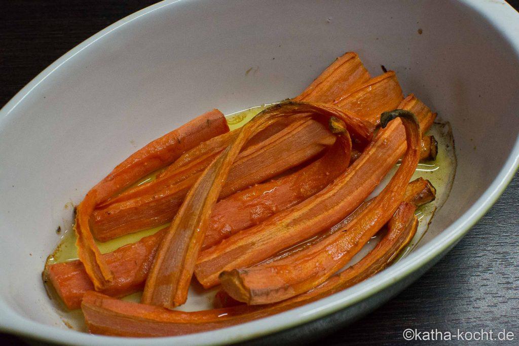 Brotkonfekt und Karottenaufstrich zum Brunch