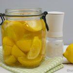 Eingelegte Zitronen – Salzzitronen