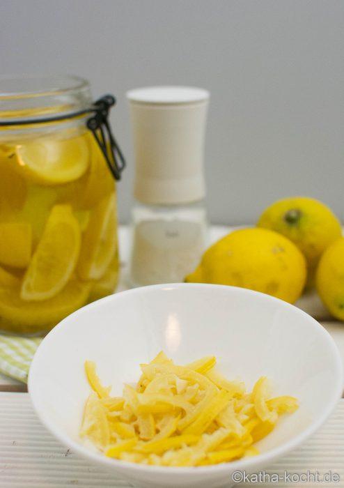 Eingelegte Zitronen - Salzzitronen