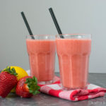 Erdbeer-Banane Smoothie mit extra Vitamin C