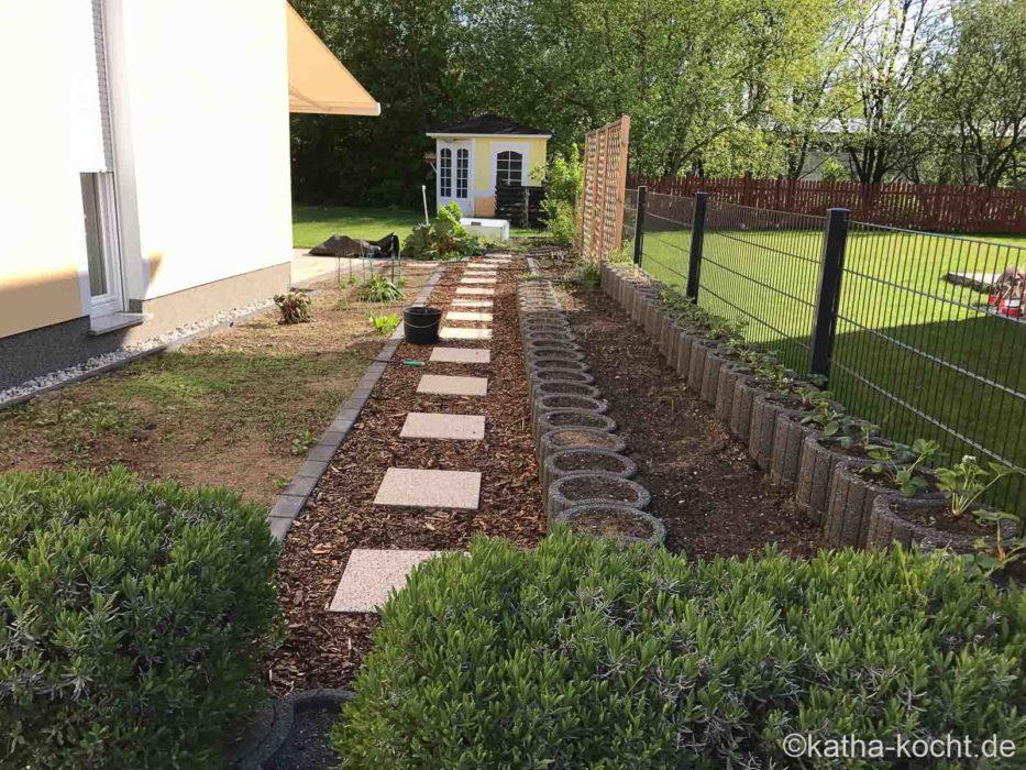 Garteneinblick 2017 - Anfang Mai