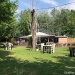Das Restaurant Casa di Legno an der Rummelsburg