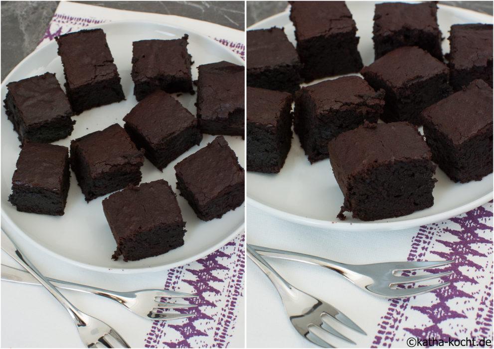 Rote Bete-Schokoladen Brownies