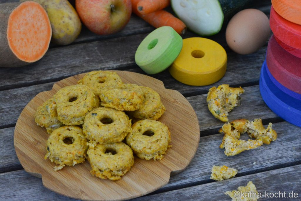 Gesunde Gemüse-Donuts für Babys