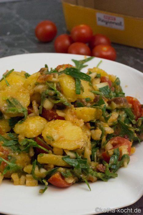Mediterraner Kartoffelsalat (