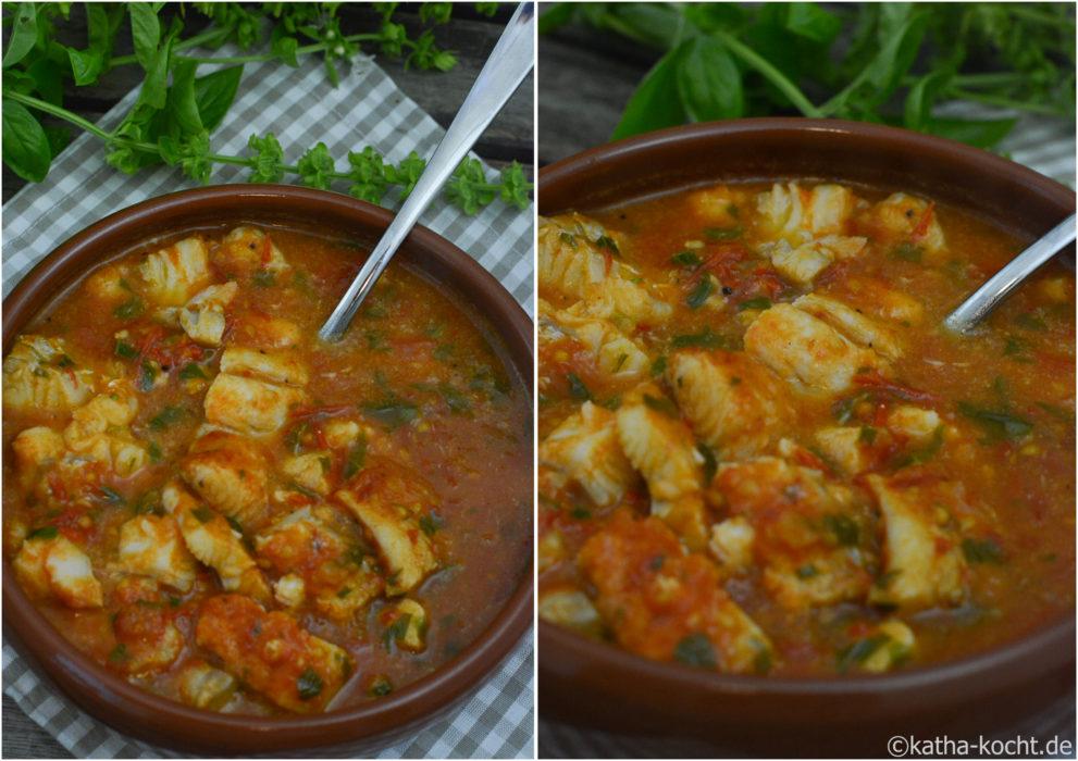 Tapas - Kabeljau in gebackener Tomatensauce (5)