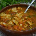 Tapas – Kabeljau in gebackener Tomatensauce