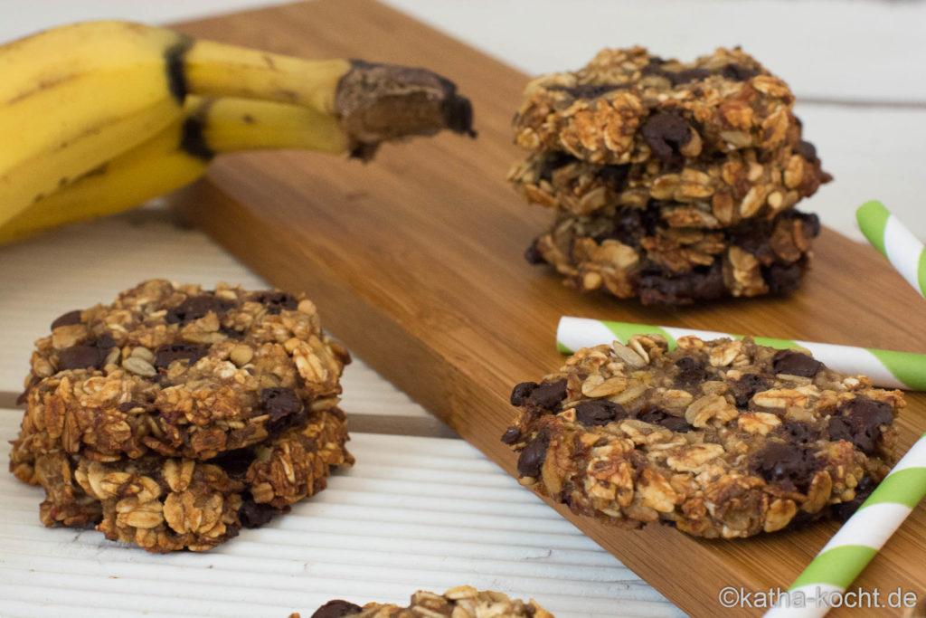 Zimt-Cookies mit Haferflocken