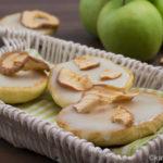 Apfel Amerikaner – mit Halloween Deko Idee