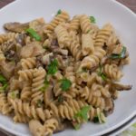Nudel-Pilz Pfanne mit Austernpilzen