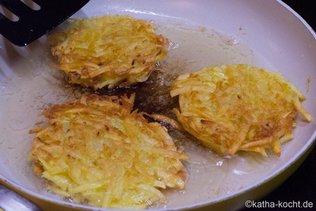 Klassische Kartoffelpuffer