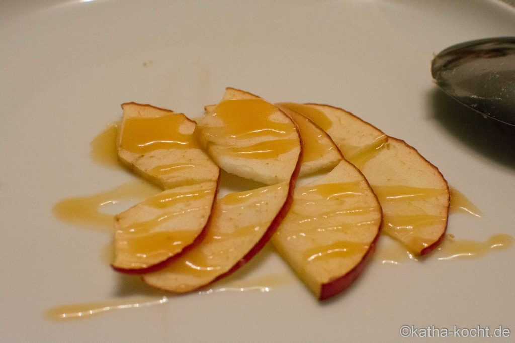 Süßes Raclette zum Dessert
