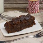 Schokoladen-Kokos Kuchen mit Rum