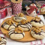Weihnachtsgebäck – Walnussplätzchen